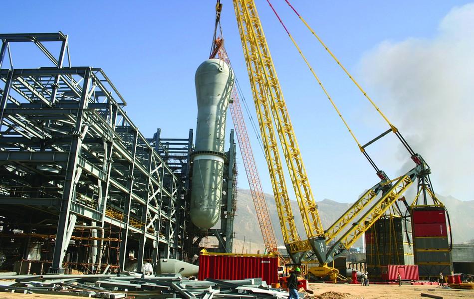 Petrochemical   Portfolio Category   شرکت سازه پاد تهران